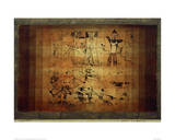 Lions Beware Giclée-tryk af Paul Klee
