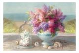 Seaside Spring Crop Reproduction giclée Premium par Danhui Nai