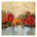Fall Riverside I Lámina giclée prémium por Silvia Vassileva