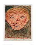 Mask - Old Woman Giclee Print by Paul Klee