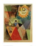 Still Life with Gas Lamp Giclee-trykk av Paul Klee