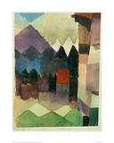 Fohn Wind in Marc's Garden Giclee Print by Paul Klee