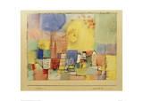 German City BR Giclee Print by Paul Klee