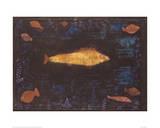 Golden Fish Reproduction procédé giclée par Paul Klee