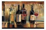 Les Vins Maison Lámina giclée prémium por Marilyn Hageman