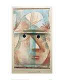 Mask - Comic Old Woman Giclee Print by Paul Klee