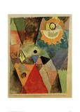 Still Life with Gas Lamp Giclee Print by Paul Klee