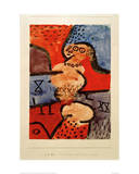 Reconstruction of a Dancer Giclee Print by Paul Klee