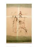 Tightrope Walker Reproduction procédé giclée par Paul Klee