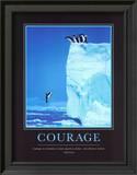 Courage Print by Steve Bloom