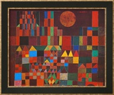 Castle and Sun Poster by Paul Klee