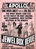 Apollo Theatre Jewel Box Revue: Gorgeous and Glamorous, 25 Men and 1 Girl Giclée-Premiumdruck