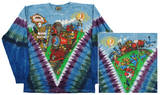 Long Sleeve: Grateful Dead - Casey Jones V T-shirt a maniche lunghe