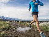 Women Trail Runner, Salt Lake City, Utah, Photographic Print by Brandon Flint