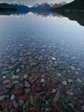 Lake Mcdonald Sunset Fotografisk trykk av Steven Gnam