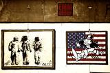 Street Art - Alec - Manhattan - New York - United States Fotografie-Druck von Philippe Hugonnard