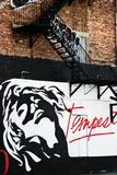 Street Art - Tempest - Manhattan - New York - United States Fotografisk trykk av Philippe Hugonnard