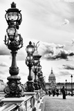 Alexander III Bridge - Invalides - Paris - France Photographic Print by Philippe Hugonnard