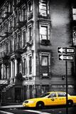 Veduta di facciata vecchio stile ad Harlem Stampa fotografica di Philippe Hugonnard