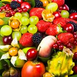 Close up of Fresh Fruits - Fruit assortments - Fruits and Vegetables Valokuvavedos tekijänä Philippe Hugonnard