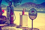 Route 66 - Gas Station - Arizona - United States Fotografisk trykk av Philippe Hugonnard