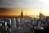 Empire State Building - Sunset - Manhattan - New York City - United States Impressão fotográfica por Philippe Hugonnard