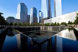 Vue Piscine Du Memorial World Trade Center Reproduction photographique par Philippe Hugonnard