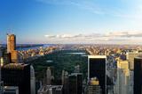 Central Park - Sunset - Manhattan - New York City - United States Fotoprint av Philippe Hugonnard