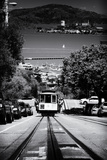 Cable Cars en el centro de San Francisco VII Lámina fotográfica por Philippe Hugonnard
