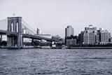 Brooklyn Bridge - The Watchtower - Manhattan - New York City - United States Photographic Print by Philippe Hugonnard