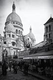 Sacre-Cœur Basilica - Montmartre - Paris - France Fotografisk trykk av Philippe Hugonnard