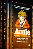 Advertising - Annie the musical - Times square - Manhattan - New York City - United States Photographic Print by Philippe Hugonnard
