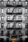 Vue Verticale Façade D'Immeuble New Yorkaise Reproduction photographique par Philippe Hugonnard