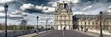Louvre, Pont Royal, Paris Reproduction photographique par Philippe Hugonnard