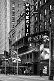The Phantom Of The Opera - Majestic - Times Square - New York City - United States Photographic Print by Philippe Hugonnard