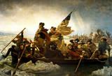 Washington Crossing the Delaware River Plakater af Emanuel Leutze