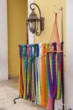 Mexican Handcrafts, Hammocks for Sale, Cozumel, San Miguel, Mexico Stampa fotografica di Lisa S. Engelbrecht
