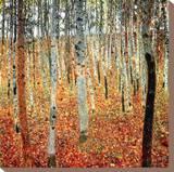 ぶな林 I 1902年 (Tannenwald) キャンバスプリント : グスタフ・クリムト