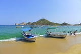 Water Taxi, Medano Beach, Cabo San Lucas, Baja, Mexico Photographic Print by Douglas Peebles