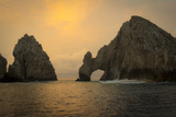 Sunrise, El Arco, the Arch, Cabo San Lucas, Baja, Mexico Photographic Print by Douglas Peebles