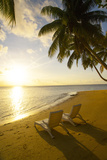 Matangi Private Island Resort, Fiji Fotografisk tryk af Douglas Peebles