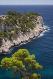 Rocky Point, Calanques, Cassis, Bouches-Du-Rhone, Cote d'Azur, Provence, France Fotografisk trykk av Brian Jannsen