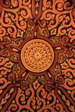 Hand-Painted Glazed Bowl Detail, Craft, Morocco, Africa Fotografisk tryk af Kymri Wilt