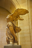 Statue of Winged Victory 'Victoire De Samothrace', Musee Du Louvre, Paris, France Fotografisk trykk av Brian Jannsen