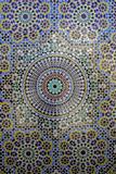Mosaic Wall for Fountain, Fes, Morocco, Africa Reproduction photographique par Kymri Wilt