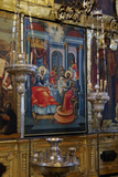 Fresco Icon in the Cathedral of the Nativity Suzdal, Suzdal, Russia Reproduction photographique par Kymri Wilt