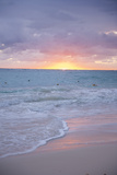 Sunrise, Bavaro Beach, Higuey, Punta Cana, Dominican Republic Fotoprint van Lisa S. Engelbrecht