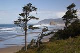 Cannon Beach and Haystack Rock, Oregon, USA Reproduction photographique par Jamie & Judy Wild