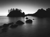 Sea Stack at Sunset, Trinidad, California, USA Fotografisk trykk av Adam Jones