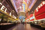 Fremont Street Experience Las Vegas, Nevada, USA Photographic Print by Michael DeFreitas
